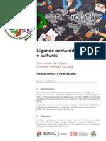 Regulamento 2017- Concurso de Ideias Teresa Calçada