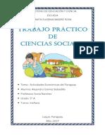 Actividad Economica Del Paraguay