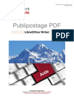 Publipostage PDF Libreoffice Writer