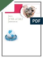 CSR of J&J