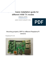 QRPi Software Installation Guide for Different HAM TX Modes