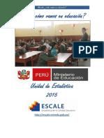 MINEDU - ESCALE - Unidad de Estadística 2015