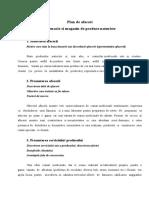 Plan de Afaceri - Farmacie Si Magazin de Produse Naturiste