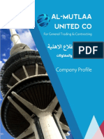 Mutlaa United Company Profile
