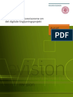Beretning til Statsrevisorerne om det digitale tinglysningsprojekt
