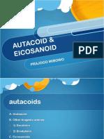 Autacoid Eicosanoid