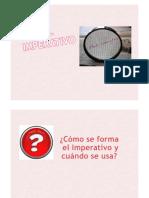 Imperativo - Espanhol