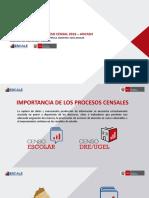 PRESENTACIÓN DEL PROCESO CENSAL 2016 – ANCASH