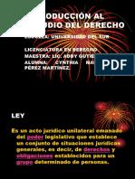 Introducción Al Estudio Del Derecho PPT