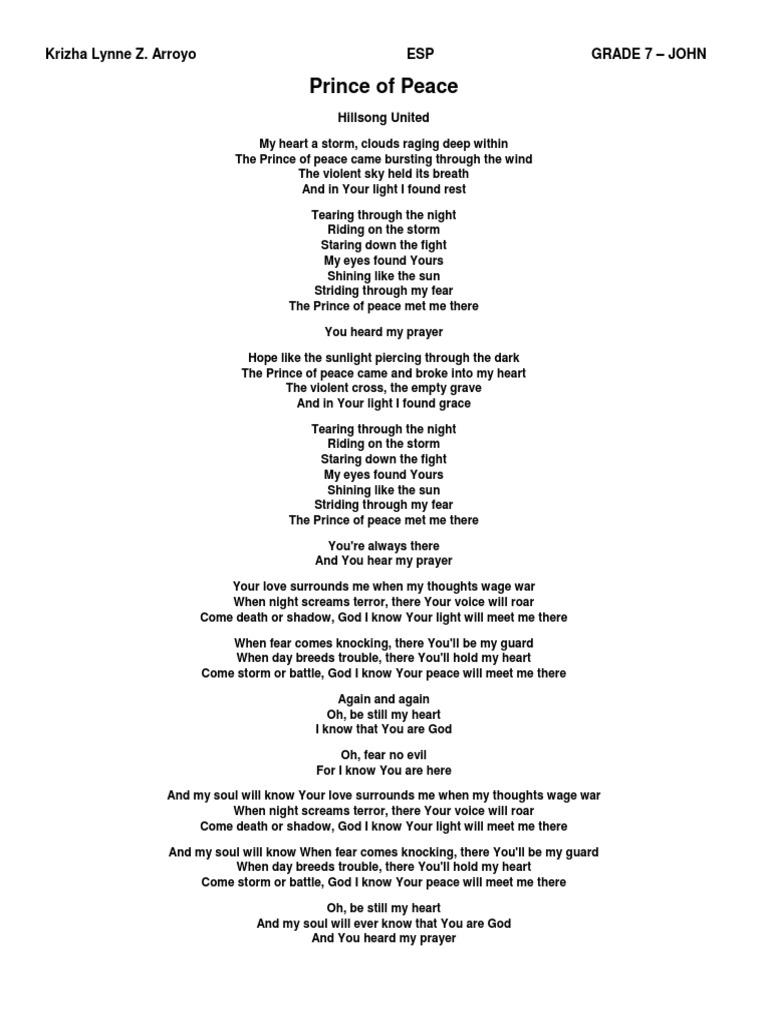 Battle Worship Songs