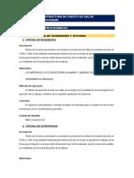 01. ESPECIFICACIONES TECNICAS Infraestructura de Puesto de Salud
