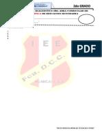 Examen de Fdcc 2do Grado