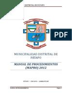 PLAN_11418_MANUAL DE PROCEDIMIENTOS - MAPRO_2011.pdf