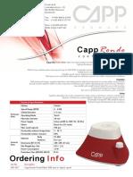 Brosur CappRondo Vortex Mixer