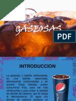 gaseosa