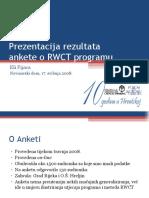 Deset godina RWCT-a u Hrvatskoj - istraživanje