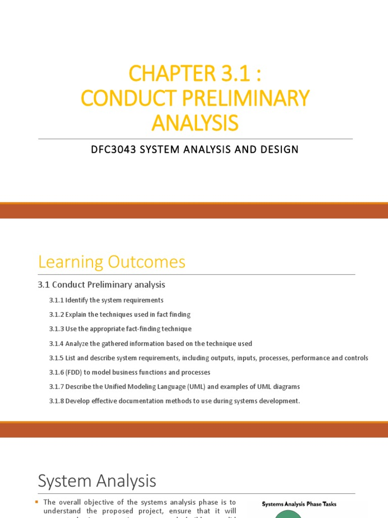 Chapter 3 1 Pdf Use Case Unified Modeling Language