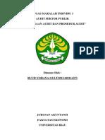 Ruud Yohana Gultom 1402114373 Makalah Perencanaan Audit Dan Prosedur Audit