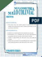 Granulometria Suelo Coluvial