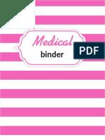Medical Binder 3