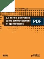 La Renta Petrolera y Los Latifundistas Durante El Gomecismo