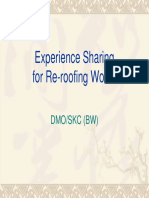 1 of 2-Experience Sharing (Reroofing)22!2!10
