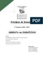 Microeconomia - exercícios resolvidos
