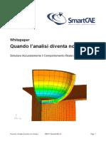 Whitepaper Analisi Non Lineare Smartcae