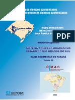 VOLUME16 Sistema Aquifero Guarani RS