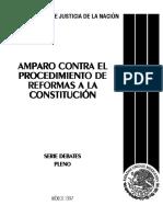 Amparo Contra El Procedimiento de Reformas a La Constitución I
