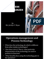 Process Technology Presentation