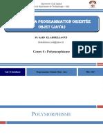 JAVA - 5 - (Polymorphisme)