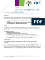 Ifrs 5 Non Current Assets Held for Sales and Discontinued Operations Summary
