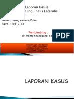 Laporan Kasus Hernia Inguinalis Pptx