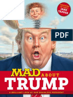 MAD Magazine MAD About Trump a Brilliant Look at Our Brainless President 2017