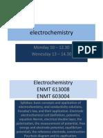 Lecture 1 Basic Electrochemistry Presentation 2017-1