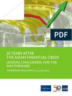 20 Years Asian Financial Crisis