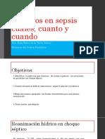 Choque Septico en Pediatria