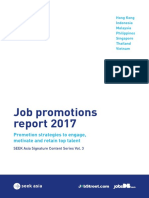 Seek Asia - Job Promotion Report