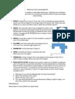 PRACTICE TEST ON GEOMETRY.docx