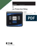 Eaton EGR 5000 Generation Protection Relay Tech Data