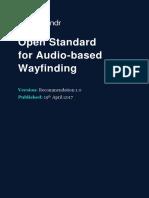 Wayfindr Open Standard Rec 1.0