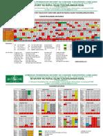 Kalender Pendidikan 2017-2018 Mi Nurul Islam Yosowilangun Kidul