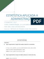 AULA 13 - MÉTODOS DE PROBABILIDADE POR EVENTOS.pptx