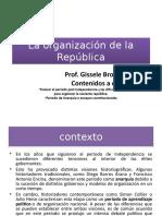 La Organización de La República