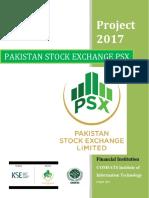 Project on Pakistan Stock Exchange PSX & KSX
