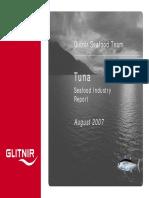 Glitnir Seafood Industry Report - Tuna B