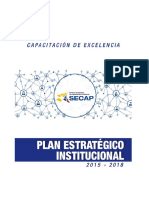 Plan Estratégico SECAP