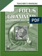 Focus On Grammar 3 Teacher's Manual