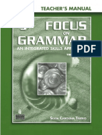 Focus On Grammar 3 Teacher's Manual